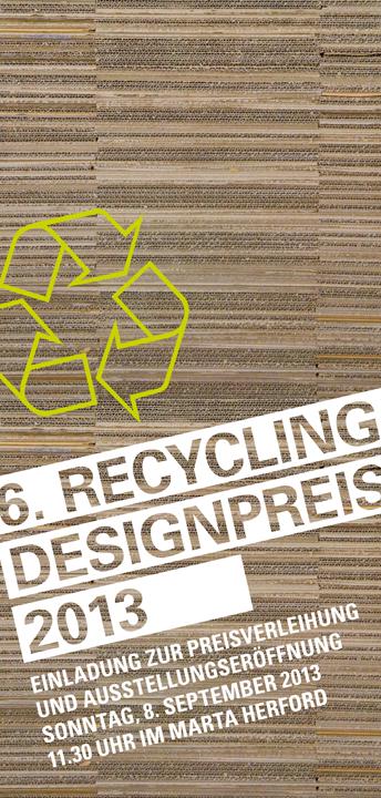Recycling designpreis 6 recyclingdesignpreis for Stilwerk berlin verkaufsoffener sonntag